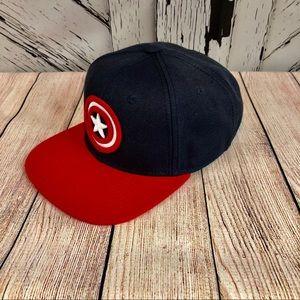 Official Marvel Captain America Snap Back Hat